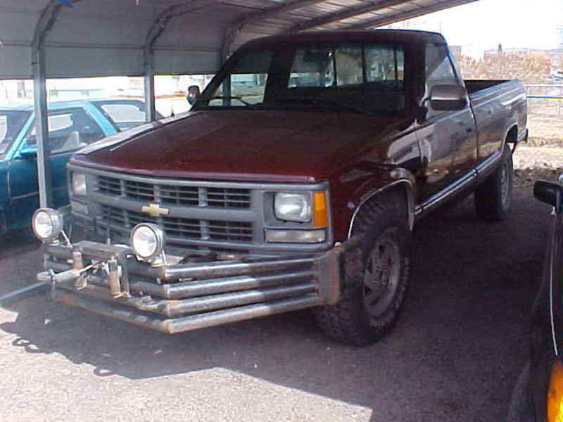 Chevy Silverado K on 1997 Dodge Stepside