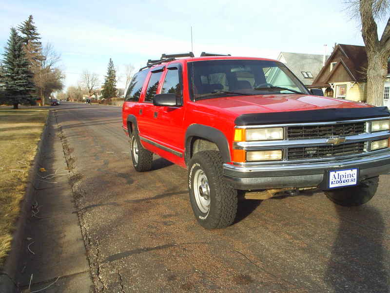 1995 Chevy Suburban K 2500 422026 At Alpine Motors