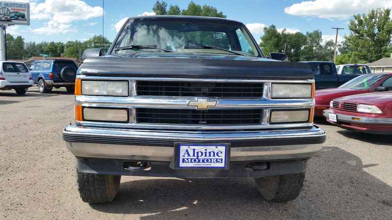 1995 Chevy K-1500 Silverado 4x4 174306 at Alpine Motors