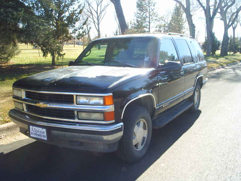 1996 chevy tahoe lt 4x4 356802 at alpine motors. Black Bedroom Furniture Sets. Home Design Ideas