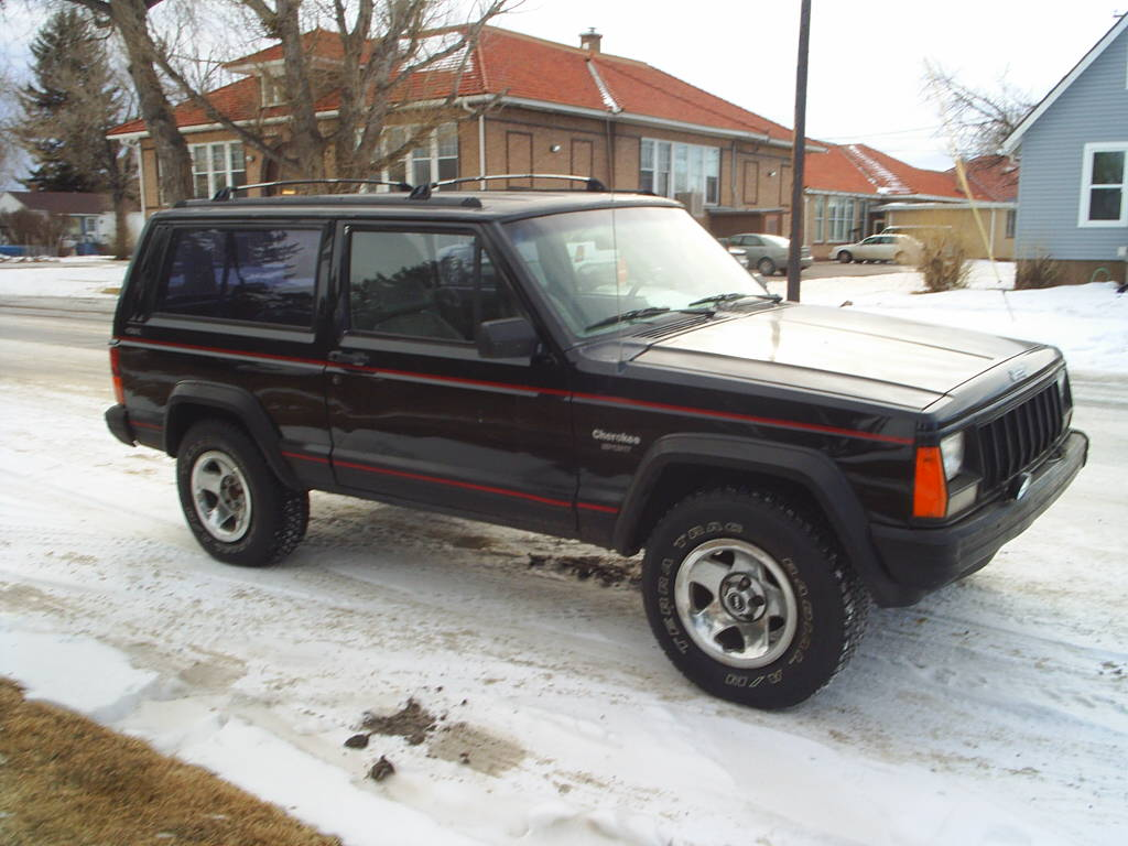 1994 jeep cherokee sport specs. Black Bedroom Furniture Sets. Home Design Ideas