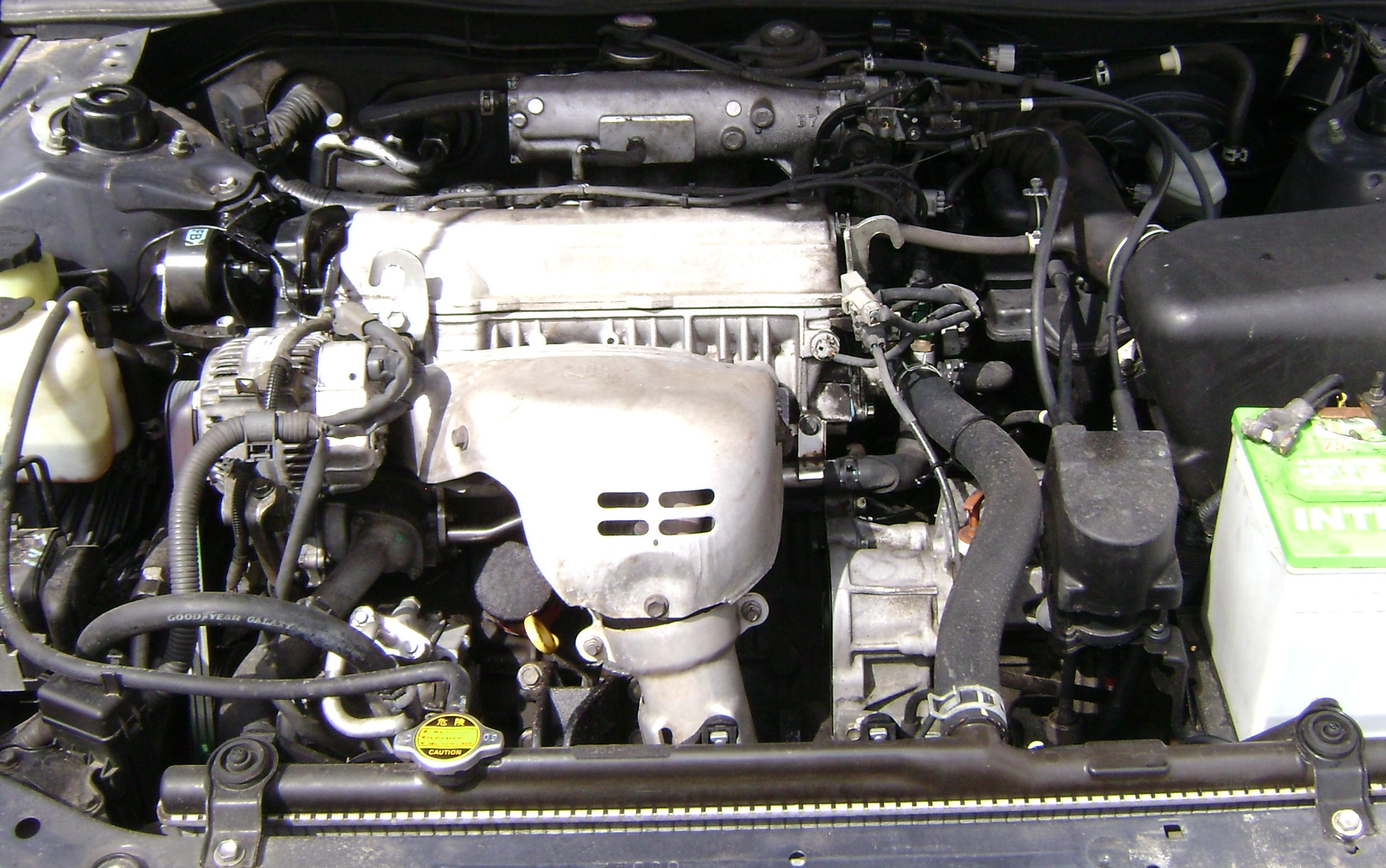 This Is A 1997 2001 Camry Engine.